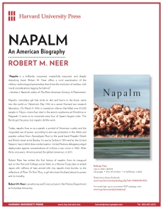 Napalm Book Flyer